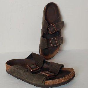Suede Arizona Birkenstock Big Buckle Sandal